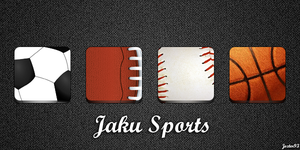 Jaku Sports Icons by Jezter93
