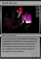 SW-Cards: Darth Revan by DarthVaderXSnips