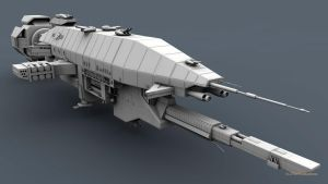 B5 Warlock Destroyer WIP 5 by 2753Productions