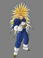 Super Trunks ssj3 by alessandelpho