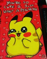 Your're So Cute I just Want a Pikachu by FoulOwl