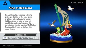 Zeruda no Densetsu Trophies - King of Red Lions by HawtLinkGasm64