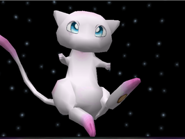 Pokemon Snap Mew by SusanLucarioFan16