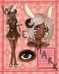Jackalope Adopt (Closed) by ElaraOfTheForest