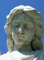 Mount Olivet Cemetery Archangel Uriel 73 by Falln-Stock