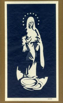 Immaculate Conception by DeanJohnsonArtStudio