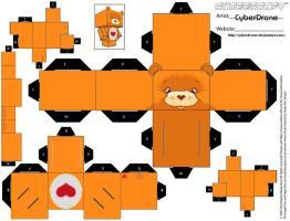 Cubee - Tender-Heart Bear by CyberDrone