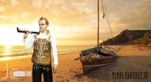 Final Fantasy 12 - Balthier and the Boat by Nayias01