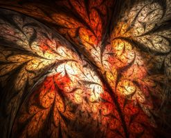 Autumn Leaf by FractalEuphoria