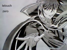 lelouch lamperouge zero by pipardo