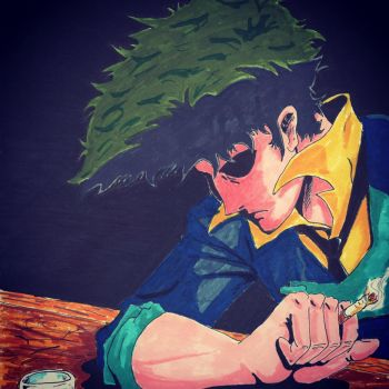 Spike Spiegel by coyote117