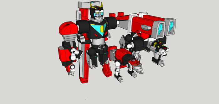 Voltron wip 7 by Lilscotty