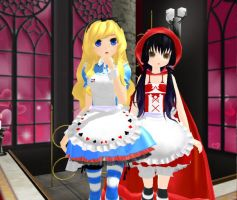 Alice And Red by hamalambam