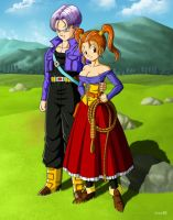 Trunks and Jessica by orco05