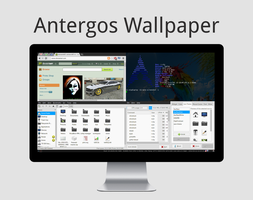 Antergos: i3 in action by I-sty