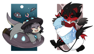 09-06 Chibis by mr-tiaa