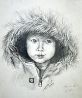 a sketch of my baby brother by infiniteeverlasting