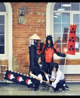 cosplay clan Uchiha 3 by NakagoinKuto