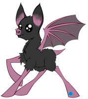 Bat Pony for Contest by ShinyStrawberry