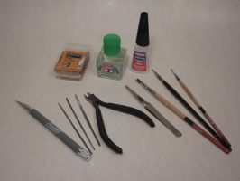 Basic Scale Model Tools by enc86