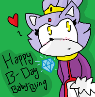 Happy B-Day Baby-Bling by ClassicAmy