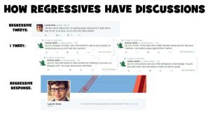How regressives have discussions by TonberryQueen121