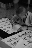 Calligrapher 3 by yugivn
