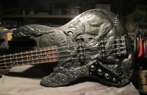 Werewolf Bass guitar - Complete - Body shot by Dans-Magic