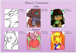 Updated Commission Sheet by fox-song