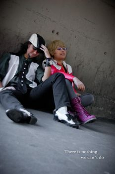 Tiger and Bunny, take a rest - Cosplay by Boudicca-Keltoi