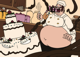 The Cake Is Alive by splashcore