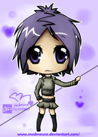 chrome dokuro chibi by mcdmouse