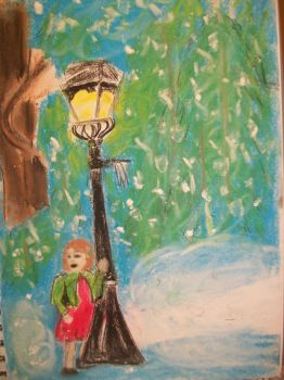 Lucy Discovers Narnia by ShieldmaidenofNarnia