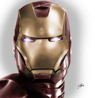 iron man by mSapia