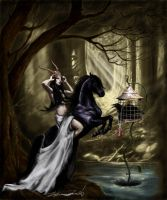 The blind witch II by MalldoroR