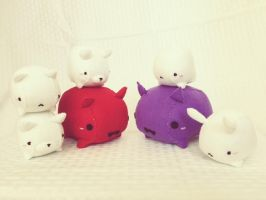 Marshmallow Animals and Gummy Devils Group Pic by PinkChocolate14