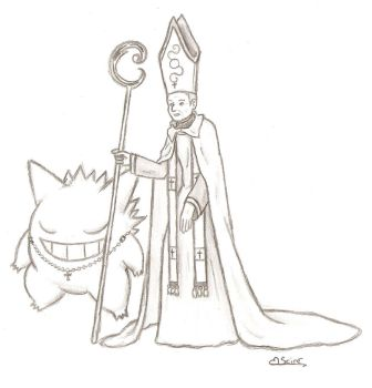a Pastor and a Saint by jo-gentil