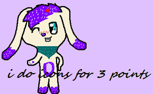 i do icons for 3 points by Babedoge