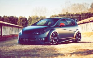 old Seat Leon by GoodieDesign