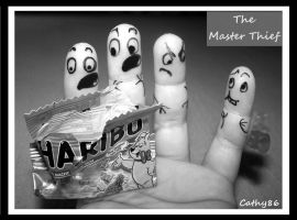 Finger Art: The Master Thief by Cathy86
