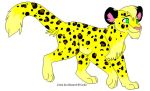 Leopard for Tadpole by bluewolfpups