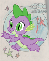 Spike the Dragon by 3ponfatisback
