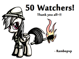 50 Watchers! by Rambopvp