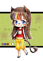 Color Splash Cat - Offer to Adopt (open) by Saviee