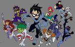 Teen titans Go: NextGen color by Hero-Jaxx