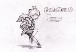 Mario Sports Mix--Rosalina by locomotive111