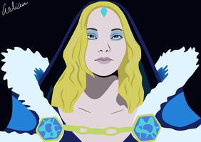 Crystal Maiden by Arlian