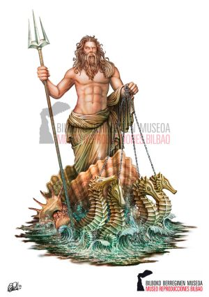 Poseidon God of the Sea - Ancient Greek Mythology