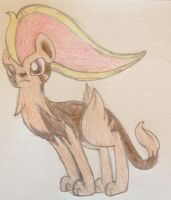 Vianti evolved into Pyroar! by Equinoxthealicorn