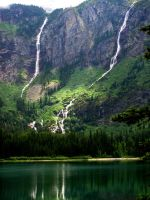 Avalanche Lake #4 by KRHPhotography